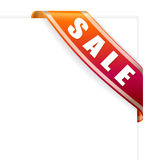 Sale ribbon Royalty Free Stock Image