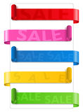 Sale Ribbons Royalty Free Stock Image