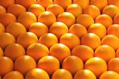 Sale of ripe oranges Stock Images