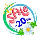 Sale 20 Stock Image