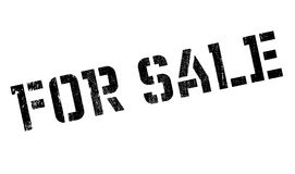 For Sale rubber stamp Royalty Free Stock Photography