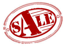 Sale rubber stamp Stock Photo