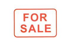 For Sale Rubber Stamp Stock Photography