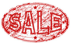Sale rubber stamp Stock Image