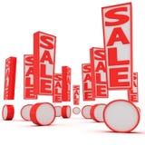 Sale! Sale! Sale! Stock Image