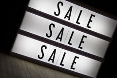 Sale sale sale Royalty Free Stock Photography