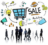 Sale Sales Selling Finance Revenue Money Income Payment Concept Royalty Free Stock Photography