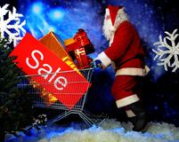 Sale santa Stock Photos