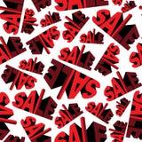 Sale seamless pattern Stock Photo