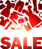 Sale service Royalty Free Stock Photo