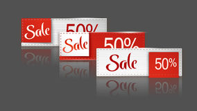 Sale set 15 Royalty Free Stock Photos