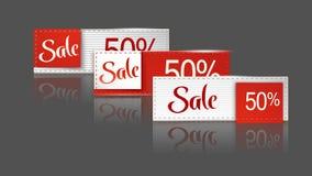 Sale set 15 Royalty Free Stock Photos