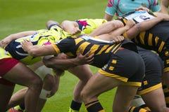 Sale Sharks e premiership di rugby 7 S delle vespe fotografie stock libere da diritti