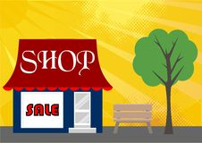 Sale Shop Royalty Free Stock Images