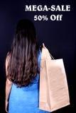 Sale Shopping Stock Image