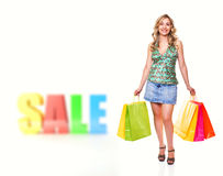 Sale shopping Royalty Free Stock Photography