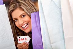 Sale shopping Royalty Free Stock Images