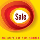 Sale shopping background and label for business promotion Royalty Free Stock Photography