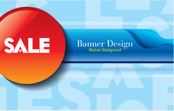Sale shopping background and label for business promotion Vector Illustration: Royalty Free Stock Photos