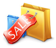 Sale, Shopping Bag Stock Photo