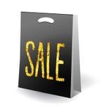 Sale shopping bag Stock Photos