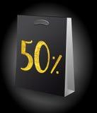 Sale shopping bag Royalty Free Stock Image