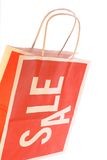 Sale Shopping Bag Isolated Stock Photo