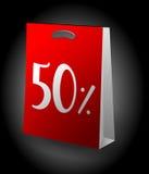 Sale shopping bag Stock Photo