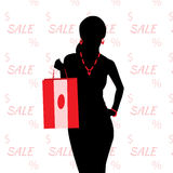 Sale and shopping Stock Photo