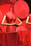 sale at shopping mall Royalty Free Stock Images