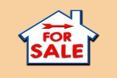 For sale sign. royalty free illustration