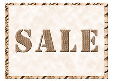 On sale sign Stock Photo