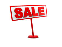 Sale sign Stock Photo