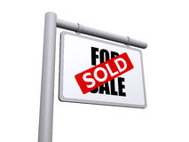 sold  sign Royalty Free Stock Images
