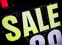 Sale sign Royalty Free Stock Image