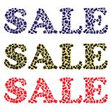 Sale sign for clothing stores Royalty Free Stock Images