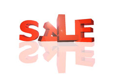 Sale sign in 3d Stock Images