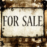 For sale Royalty Free Stock Photography