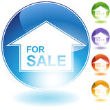 For Sale Sign Icon Stock Photos