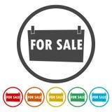 For Sale Sign - illustration royalty free illustration