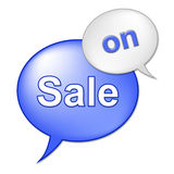 Sale On Sign Indicates At This Time And Clearance Royalty Free Stock Photo