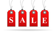 Sale sign isolated Royalty Free Stock Images