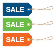 Sale sign set Royalty Free Stock Photography