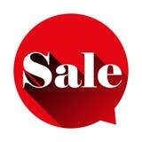 Sale sign speech bubble Stock Photography