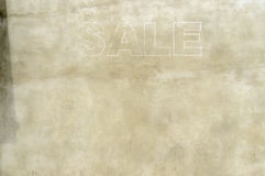 Sale sign in a store in London Royalty Free Stock Photos