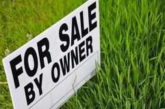 For sale signage stock image