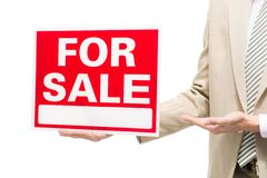 For sale signboard Royalty Free Stock Photo