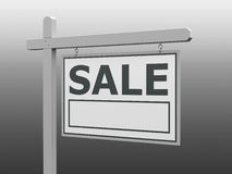 Sale signpost Stock Photography