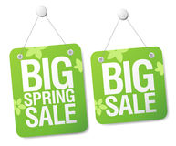 Sale signs. Royalty Free Stock Photos
