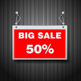 Sale signs illustration Royalty Free Stock Photo